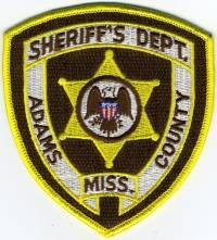 MS,A,Adams County Sheriff001