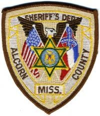 MS,A,Alcorn County Sheriff001