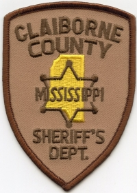 MS,A,Claiborne County Sheriff002