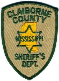 TRADE,MS,Claiborne County Sheriff
