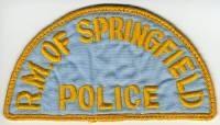 CANADA,SPRINGFIELD POLICE 1