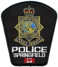 CANADA,SPRINGFIELD POLICE 4