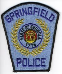 GA,SPRINGFIELD POLICE 1