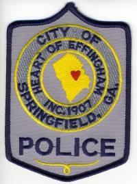 GA,SPRINGFIELD POLICE 2