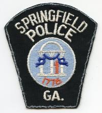 GA,SPRINGFIELD POLICE001