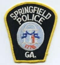 GA,SPRINGFIELD POLICE002