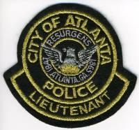 GA,ATLANTA Police Lieutenant001